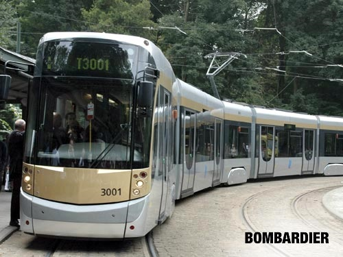 Bombardier Light Rail Vehicles are in use throughout Europe and will be the base of the design for the TTC's new streetcars.