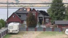 Fire at B.C. home