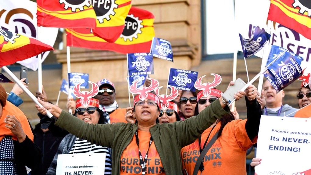 Phoenix pay protest
