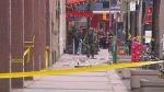 suspicious package, College Street, bomb squad