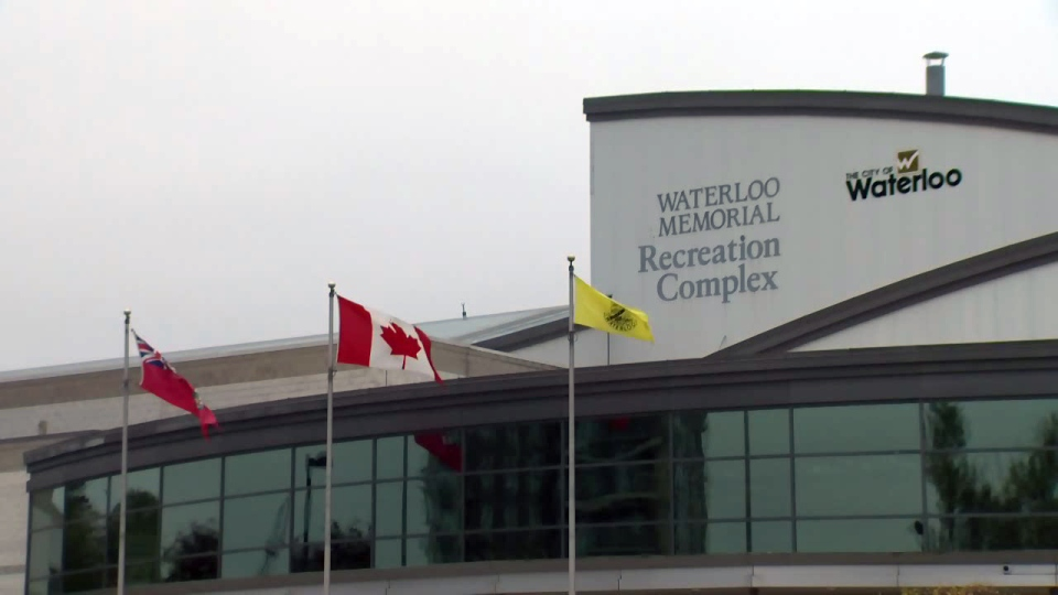 The Waterloo Memorial Recreation Complex is pictured on Thursday, Oct. 12, 2017.