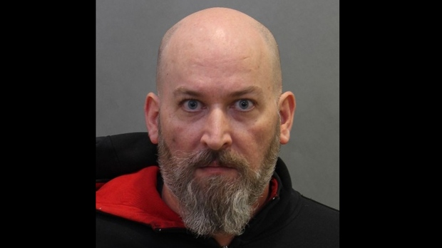 Gerard McGilly, 46, is shown in a Toronto police handout image.