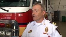 Ottawa Deputy Fire Chief John Gillissie.