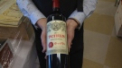 The highly coveted Bordeaux at this year's event is a red 2014 Chateau Petrus. Oct. 13, 2017 (CTV Vancouver Island)