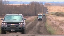 RCMP patrol continues near Maidstone; one charged