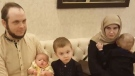 Joshua Boyle, his American wife Caitlan Coleman and their three children were freed from captivity by Pakistani commandos earlier this week. (Pakistani Defence/Facebook)