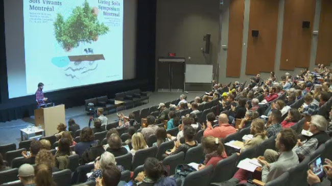 Academics, food growers and government officials gathered to discuss the importance of soil to the environment at a three-day symposium at Concordia University.