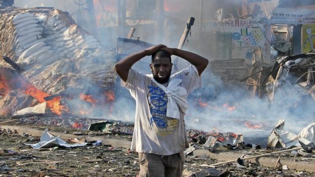 More than 200 dead in Somalia capital bombing