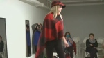 The show featured all forms of fashion from luggage to rain boots Saturday, Oct. 14, 2017.