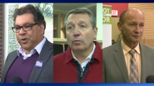 Naheed Nenshi, Bill Smith and Andre Chabot are among the candidates vying to be mayor of Calgary