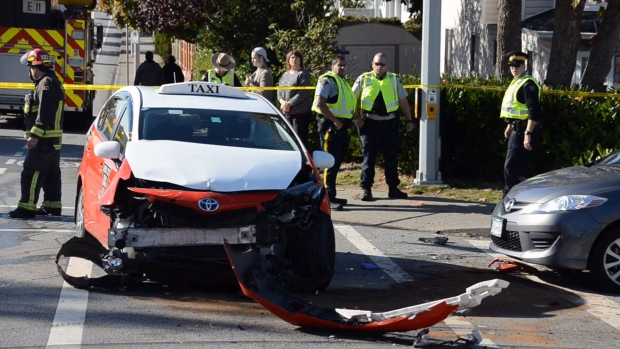Police investigating after person thrown from vehicle in Surrey