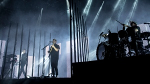 English Band Alt-J performs in Vancouver at UBC's Doug Mitchell Arena on Friday, Oct. 13, 2017. (Photos by Anil Sharma for CTV Vancouver)