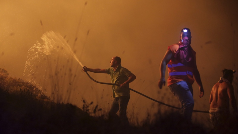 Portugal wildfires kill 27; 3 dead across border in Spain