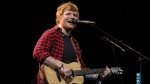 Award-winning British singer-songwriter Ed Sheeran said Monday that some upcoming shows could be cancelled after he suffered a cycling accident, posting an image of his arm in a cast and a sling. (©Oli SCARFF / AFP)
