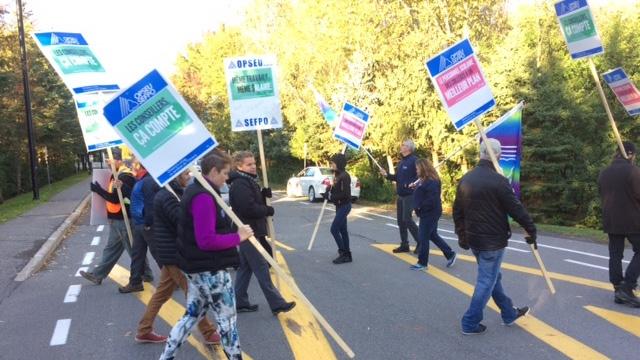 La Cité Collégiale, strike action