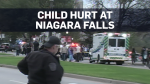 10-year-old falls into gorge at Niagara Falls