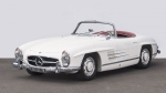 1961 Mercedes-Benz 300 SL Roadster with hard top. (Dirk de Jager)