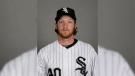 In this Feb. 27, 2016, file photo, of Daniel Webb, of the Chicago White Sox baseball team, poses in uniform. (AP / Matt York)