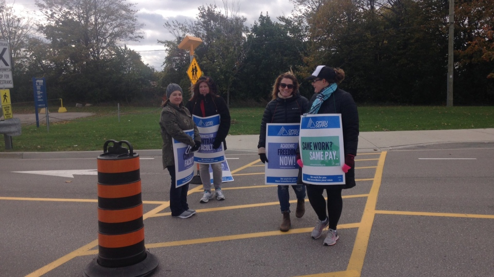 No deal reached: Georgian College faculty go on strike | CTV Barrie News