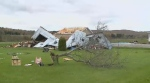 Tornado damage in Mont-Laurier