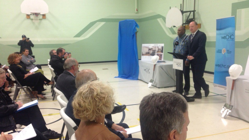 Windsor Essex Community Health Centre to break ground and open by summer of 2018. (Bob Bellacicco / CTV Windsor)