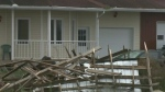 Tornado damages homes in Mont-Laurier