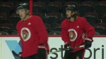 Side line to blue line: Karlsson is back!