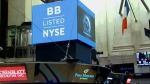 BlackBerry moves to the New York Stock Exchange