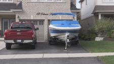 Parking your boat in your driveway may soon be ill