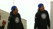 Sask. twins' hockey dreams come true