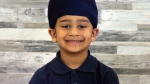 Seven-year-old Gurtaj was struck Oct. 6, 2017 in Abbotsford.