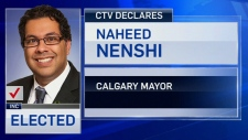 Nenshi reelected to third term