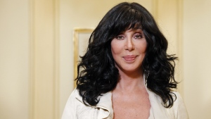 Singer and actress Cher here seen in Paris, October 2013. (© AFP PHOTO/ FRANCOIS GUILLOT)