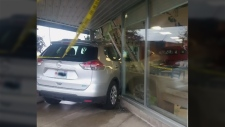 SUV crashes into restaurant during brunch