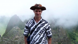 Mike Spencer Bown at Machu Picchu. (Mike Spencer Bown)