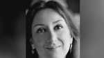 Daphne Caruana Galizia is seen in this undated photo. (The Malta Independent via AP)