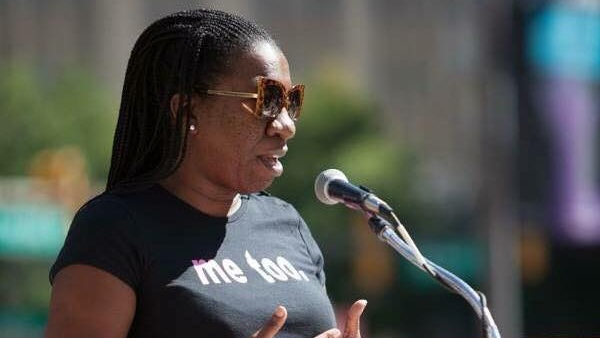 "Tarana Burke created the ""Me Too"" movement as a way to support victims of sexual assault in underprivileged communities. (Tarana Burke/Facebook)"