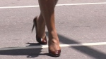 Bill would ban mandatory high heels