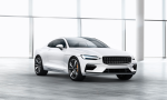 The 2019 Polestar 1 hybrid sport coupe by Volvo (handout photo)