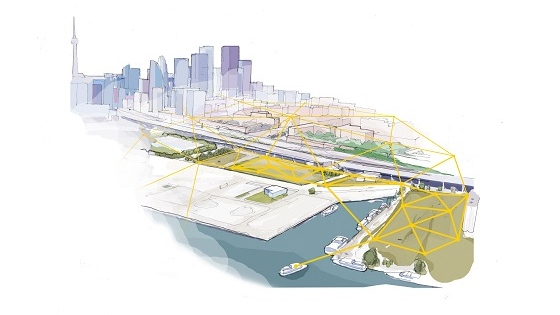 Sidewalk Labs - Digital Infrastructure Vision (Illustrative Purposes only)