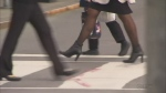 Ban on mandatory high heels a safety issue