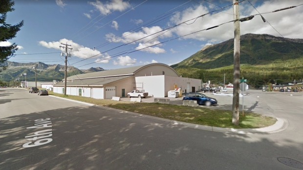 The Fernie Memorial Arena in Fernie, B.C. is seen in this undated image. (Source: Google Maps)