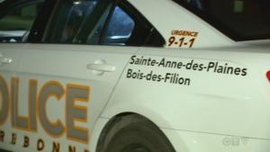 Sainte Anne des Plaines police, Bois des Filion po