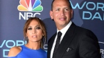 This Sept. 19, 2017 file photo Jennifer Lopez, left, and Alex Rodriguez arrive at the 'World of Dance' Celebration at Delilah in West Hollywood, Calif.(Photo by Jordan Strauss/Invision/AP, File)