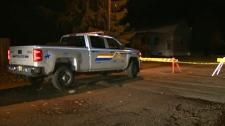 RCMP hold scene in Fernie
