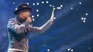 Gord Downie performs at WE Day in Toronto on Wednesday, Oct. 19, 2016. (THE CANADIAN PRESS/Chris Young)