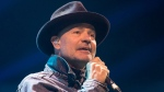 Gord Downie performs at WE Day in Toronto on Wednesday, October 19, 2016. THE CANADIAN PRESS/Chris Young
