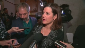 Justice Minister Stephanie Vallée said she expected Bill 62 to be challenged in court (Oct. 18, 2017)