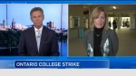 Algonquin College President discusses the strike