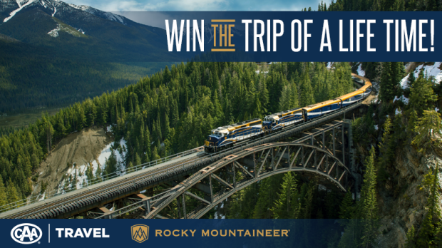 CAA Travel's Rocky Mountaineer Great Train Escape